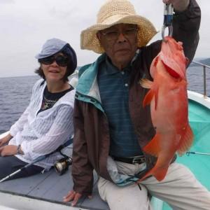 餌釣りですが釣れてます。の画像