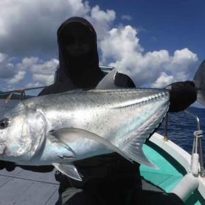 暑い気候、熱い魚達、釣り師もアツイ、南の島はアツイのが似合う。 の画像
